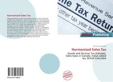 Bookcover of Harmonized Sales Tax