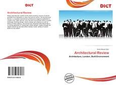 Copertina di Architectural Review