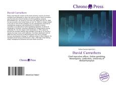 Bookcover of David Carruthers