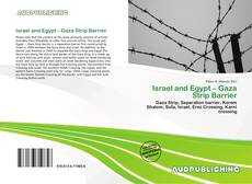 Bookcover of Israel and Egypt – Gaza Strip Barrier