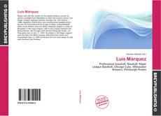Portada del libro de Luis Márquez