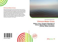 Couverture de Chinese Water Crisis