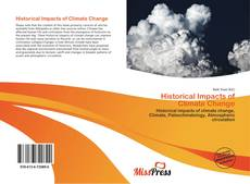 Обложка Historical Impacts of  Climate Change