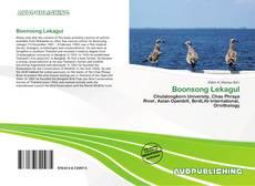 Portada del libro de Boonsong Lekagul