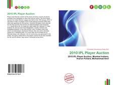 Capa do livro de 2010 IPL Player Auction