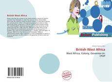 Bookcover of British West Africa