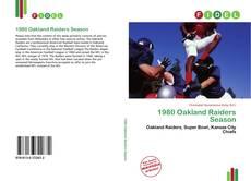 Couverture de 1980 Oakland Raiders Season
