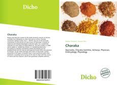 Charaka kitap kapağı