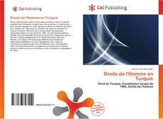Portada del libro de Droits de l'Homme en Turquie