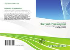 Bookcover of Copybook (Programming)
