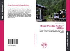 Bookcover of Dinas Rhondda Railway Station