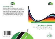 Bookcover of Martemyan Ryutin