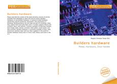 Couverture de Builders hardware