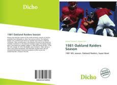 Couverture de 1981 Oakland Raiders Season