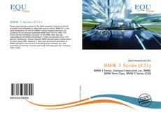 Bookcover of BMW 3 Series (E21)