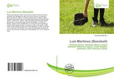 Bookcover of Luis Martínez (Baseball)