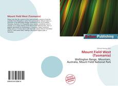 Bookcover of Mount Field West (Tasmania)