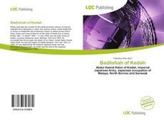 Couverture de Badlishah of Kedah