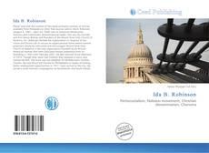 Ida B. Robinson kitap kapağı