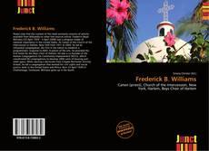 Bookcover of Frederick B. Williams