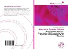 Bookcover of Abubakar Tafawa Balewa