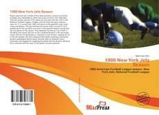 Buchcover von 1986 New York Jets Season