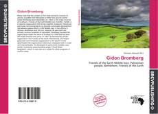 Capa do livro de Gidon Bromberg