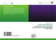 Capa do livro de Amba (Condiment)