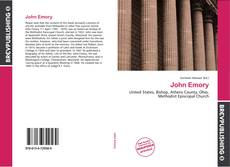 Bookcover of John Emory
