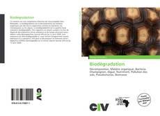 Copertina di Biodégradation