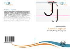 Couverture de Kodava Language