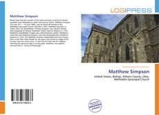 Bookcover of Matthew Simpson