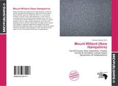 Bookcover of Mount Willard (New Hampshire)