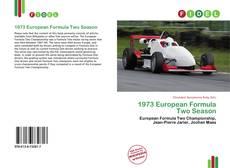 Capa do livro de 1973 European Formula Two Season