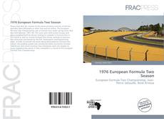 Capa do livro de 1976 European Formula Two Season