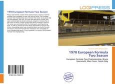 Capa do livro de 1978 European Formula Two Season