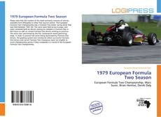 Capa do livro de 1979 European Formula Two Season