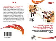 Bookcover of Coupe d'Europe des Vainqueurs de Coupe de Football 1977-1978