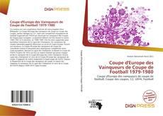 Coupe d'Europe des Vainqueurs de Coupe de Football 1979-1980的封面