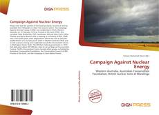 Campaign Against Nuclear Energy kitap kapağı