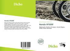 Bookcover of Honda VF500F