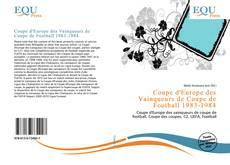 Bookcover of Coupe d'Europe des Vainqueurs de Coupe de Football 1983-1984