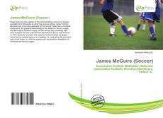 Portada del libro de James McGuire (Soccer)