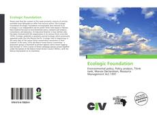 Copertina di Ecologic Foundation