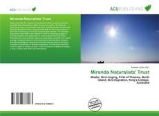 Обложка Miranda Naturalists' Trust