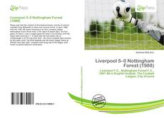 Bookcover of Liverpool 5–0 Nottingham Forest (1988)