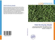 1922 FA Charity Shield的封面
