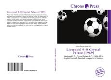 Bookcover of Liverpool 9–0 Crystal Palace (1989)