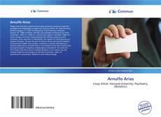 Bookcover of Arnulfo Arias