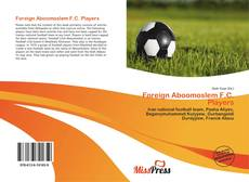 Bookcover of Foreign Aboomoslem F.C. Players